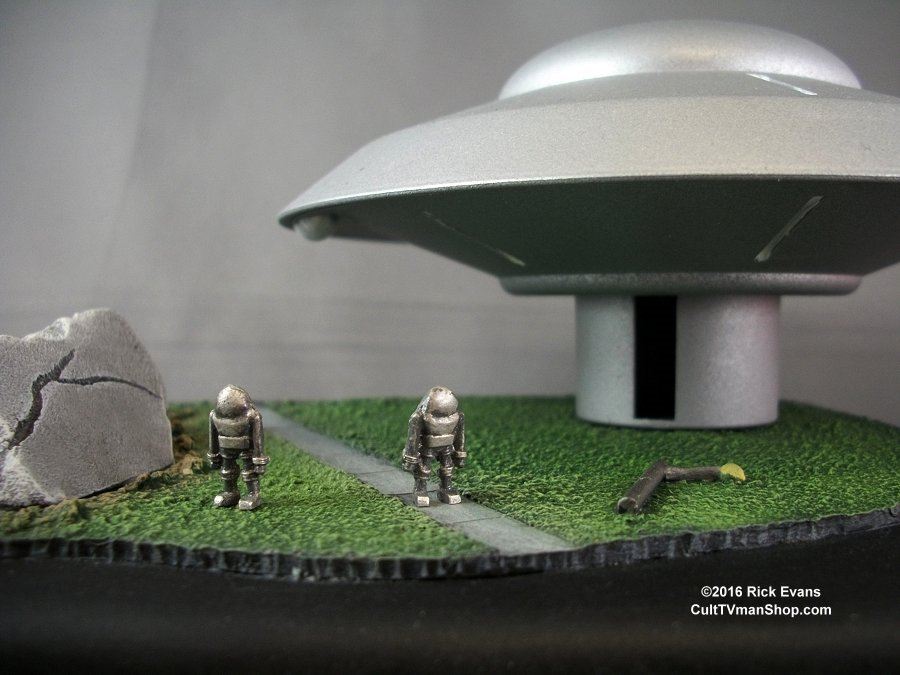 Earth Vs The Flying Saucers Monsters Of The Movies Base
