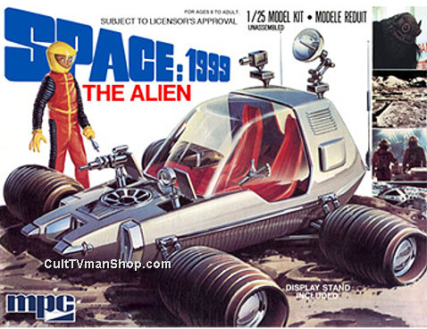 Space:1999 Alien/Moon Buggy reissue from Round 2/MPC
