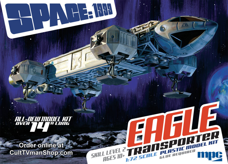 Space 1999 Eagle NEW KIT - 1:72 scale from MPC/Round 2