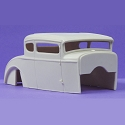 1930 Ford Rat Rod 1:25 resin car body from Jimmy Flintstone