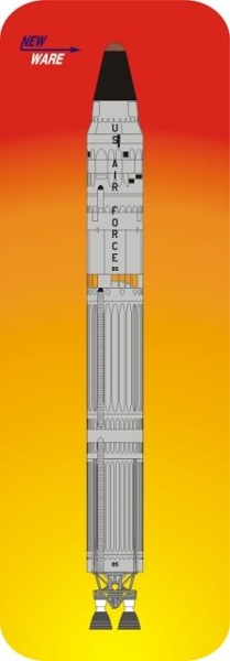 Titan II ICBM   1:144 scale from New Ware