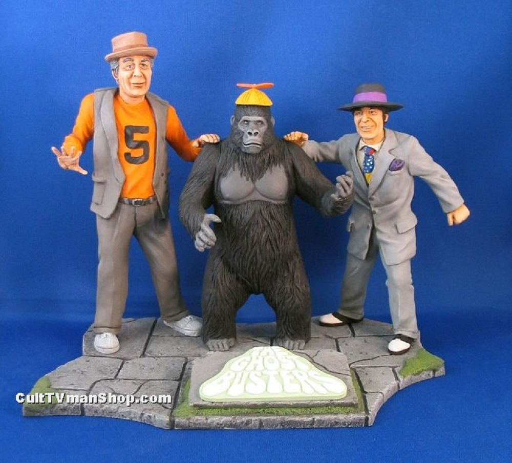 Spenser and Kong with base DELUXE SET - Graveyard Scenes