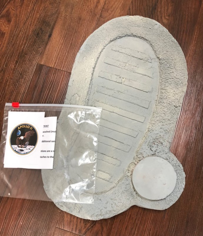 One Small Step - Apollo Moon Boot resin model