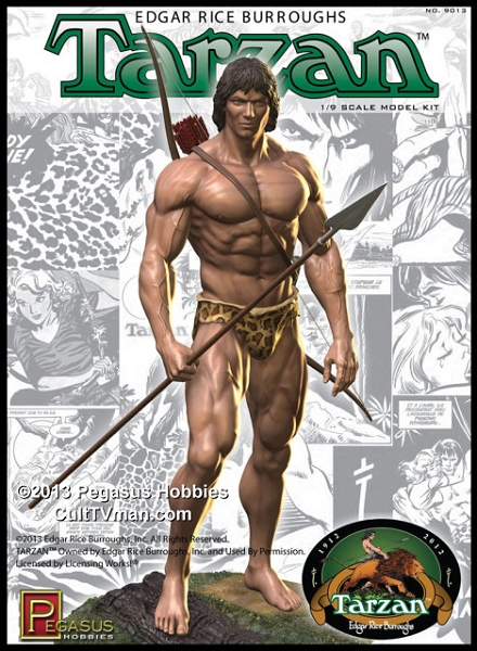 Tarzan From Pegasus Hobbies