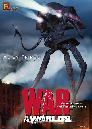 War of the Worlds Alien Tripod from Pegasus