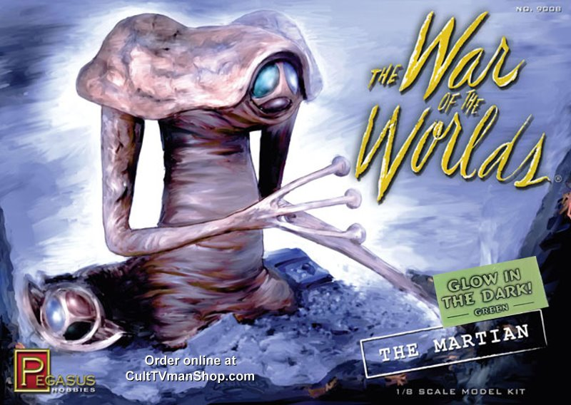 War of the Worlds Martian - GLOW IN THE DARK - from Pegasus
