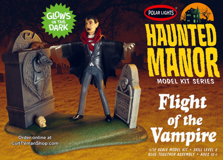 NEW: Haunted Manor: Flight of the Vampire  from Round 2/Polar Lights