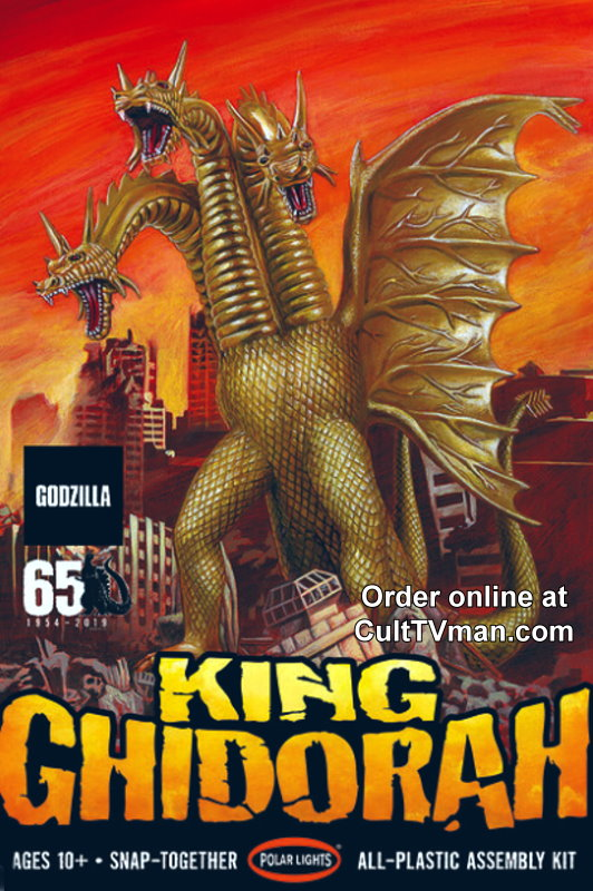 King Ghidorah 1:350 reissue from Polar Lights/Round 2  SCRATCH AND DENT