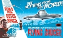Plan 9 from Outer Space Flying Saucer kit from Polar Lights SCRATCH AND DENT