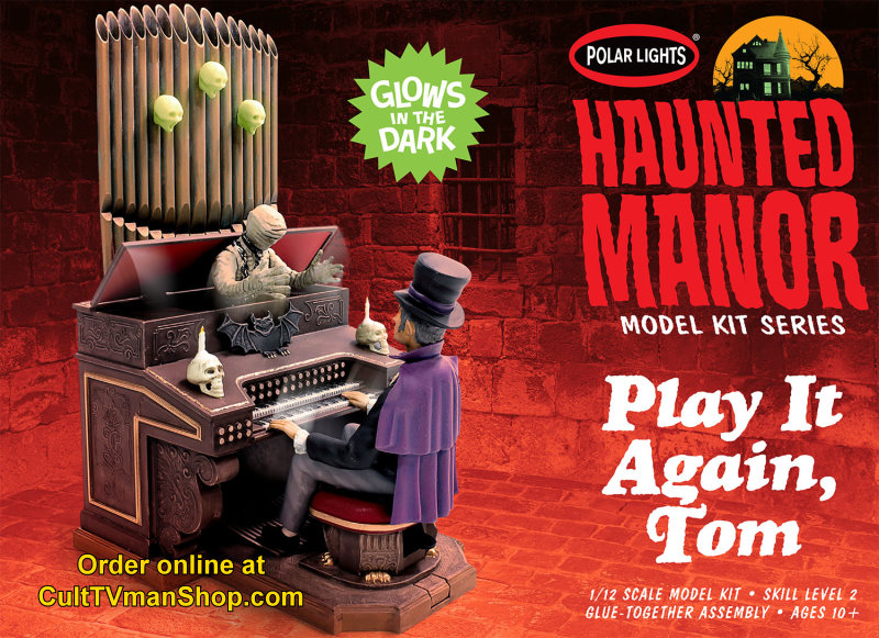 PREORDER: Haunted Manor: Play It Again Tom  from Polar Lights - 24.99 - PREORDER RESERVATION
