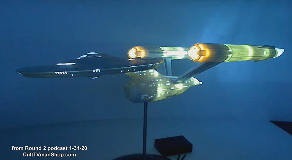 U.S.S. Enterprise (from Discovery)  LIGHT KIT - 1:1000 scale from Round 2/Polar Lights - PREORDER RESERVATION