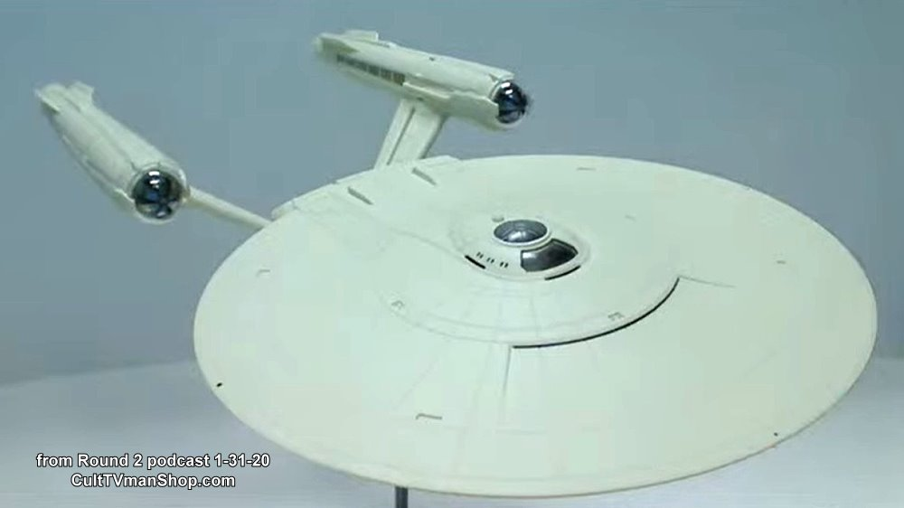 U.S.S. Enterprise from Star Trek Discovery 1:1000 scale from Round 2/Polar Lights - $48.99 - PREORDER RESERVATION