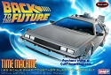 Back to the Future Delorean reissue  from Round 2/Polar Lights SCRATCH AND DENT