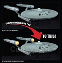 Classic Enterprise Light Kit 1:350 from Polar Lights/Round 2