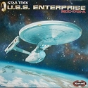 Refit Enterprise BLUE plastic 1:350 scale from Polar Lights
