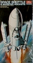 Space Shuttle and Booster Rockets - 1:288 scale from Academy OPEN BOX KIT