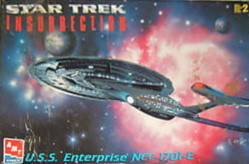 USS Enterprise E - 1:1400 - Insurrection edition (1999) from AMT