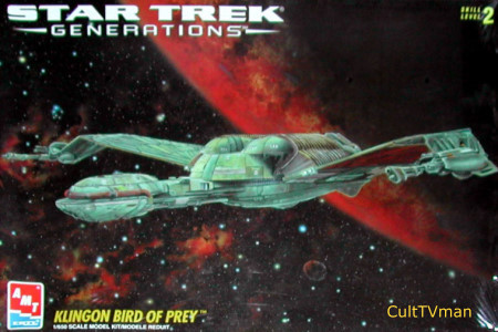 Klingon Bird of Prey Generations Edition from AMT SCRATCH AND DENT