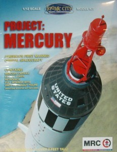 Project Mercury - 1:12 scale from Atomic City/MRC