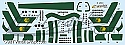 Space Fighter Mk II green stripes decals from JTGraphics