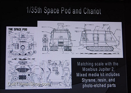 Lost In Space Pod & Chariot 1:35 scale from Moebius $59.95 ...