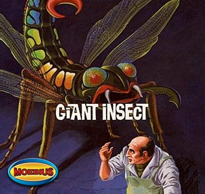 The Giant Insect from Moebius Models SCRATCH AND DENT