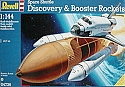 Space Shuttle Discovery with Boosters 1/144 scale from Revell-Germany