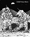 Apollo 17 Last Men on the Moon 1/24 from New Ware