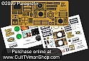Jupiter 2 Photoetch/decal set 1:35 scale from Paragrafix