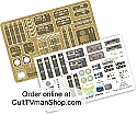 Flying Sub photo etch and decals 1:32 scale from Paragrafix