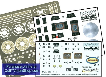 Viper Mk 2 Photoetch/decal set from Paragrafix