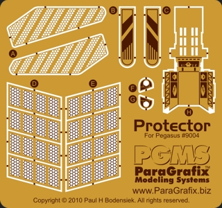 Protector photoetch detail set from Paragrafixs