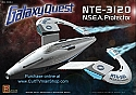 Galaxy Quest NSEA Protector Ship from Pegasus Hobbies SCRATCH AND DENT