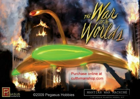War of the Worlds Martian War Machine from Pegasus Hobbies