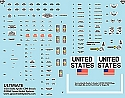 Apollo CSM 1:32 scale decals from Space Model Systems