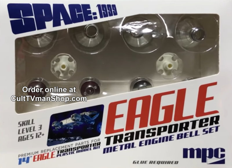 Space 1999 Eagle METAL Engine Bells - 1:72 scale from MPC/Round 2