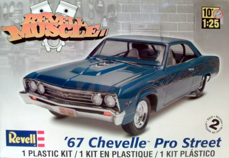 1967 Pro Street Chevy Chevelle  1:25 from Revell