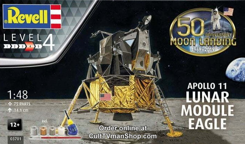 Apollo 11 Eagle Lunar Module 1:48 from Revell/Germany
