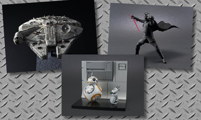 New Rise of Skywalker model kits from Bandai