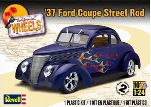 1937 Ford Coupe Street Rod 1:24 scale from Revell