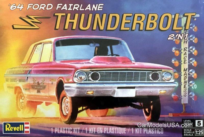 1964 Ford Fairlane Thunderbolt 1:25 from Revell/Monogram