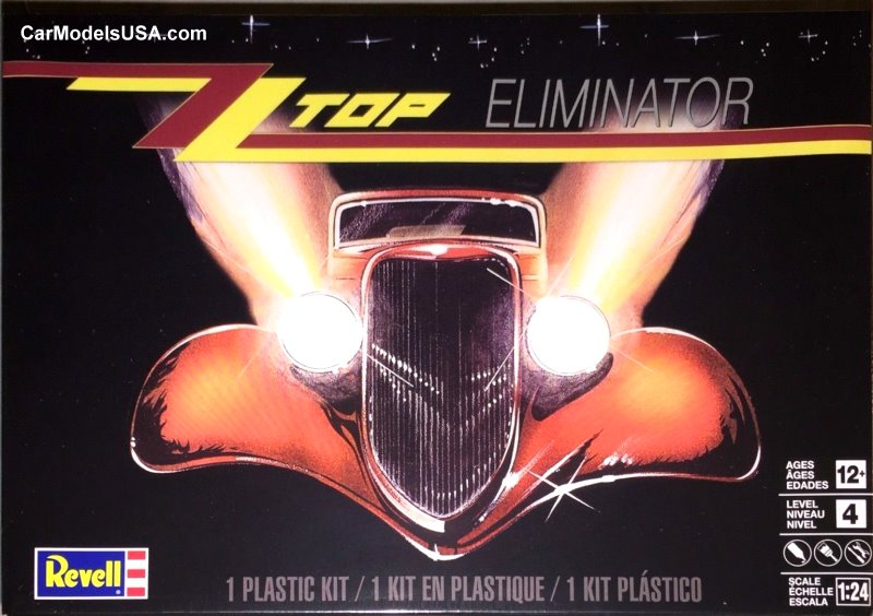 1933 Ford Coupe - ZZ Top Eliminator 1:24 from Revell