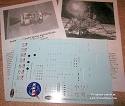Apollo CSM/LM1:72 scale decals from CultTVman/Space Model Systems