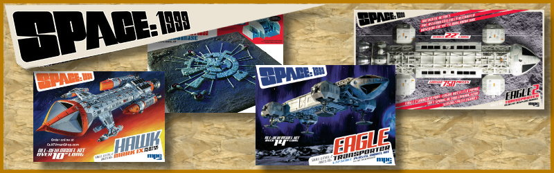 Space:1999 model kits
