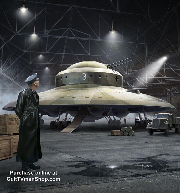 Haunebu Ii German Flying Saucer 172 From Squadron