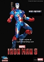 Iron  Patriot from Iron Man 3 - 1:9 scale prepainted kit from Dragon