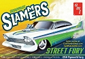 1958 Plymouth Street Fury - Slammers - Snap - 1:25 from AMT/Round 2