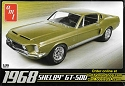 1968 Shelby Mustang GT500 1:25 from AMT/Round 2