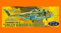 Jolly Green Giant Helicopter 1:72 - Aurora reissue from Atlantis - PREORDER RESERVATION