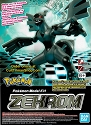 NEW: Zekrom - Pokemon model collection from Bandai